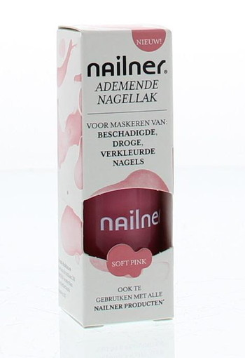 Nailner Nagellak soft pink (8 ml)