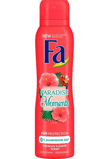 Fa Paradise Moments Deodorant Spray 150ml