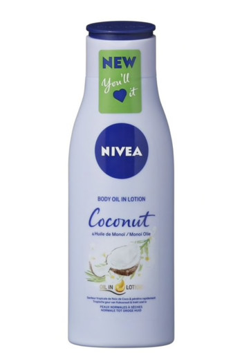 Nivea Body oil lotion coconut & monoi (200 ml)