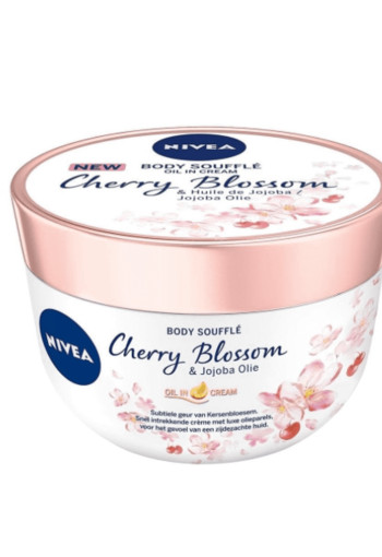 Nivea Body oil souffle cherry blossom & jojoba (200 ml)