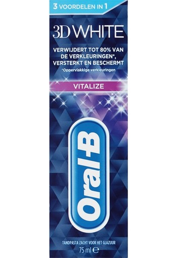 Oral B Tandpasta 3D white vital fresh 75 ml