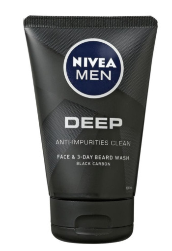 Nivea Men deep black face wash 100 ml