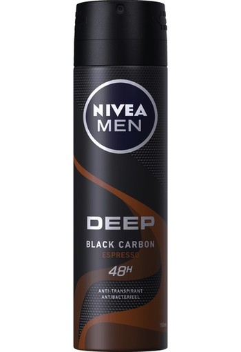 Nivea Men deodorant deep espresso spray 150 ml