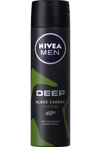 Nivea Men deodorant deep amazonia spray 150 ml