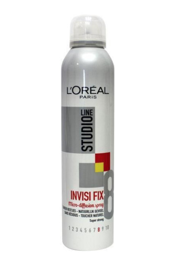 Loreal Studio line invisible fix spray (250 ml)