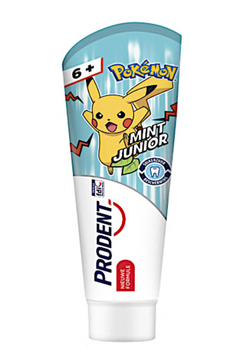 Prodent Tandpasta Kids 6+ jr Pokémon 75 ML