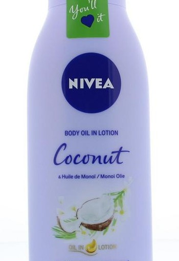 Nivea Body oil lotion coconut & monoi (400 ml)