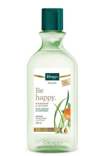 Kneipp Douche Be Happy mandarin & vetiver 250 ml