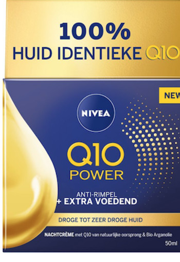 Nivea Q10 Power nachtcreme extra voedend 50 ml