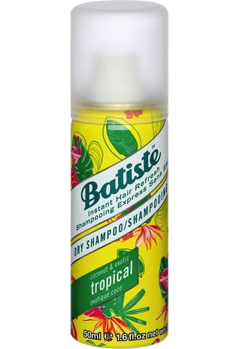 Batiste Droogshampoo Tropical Mini 50 ml