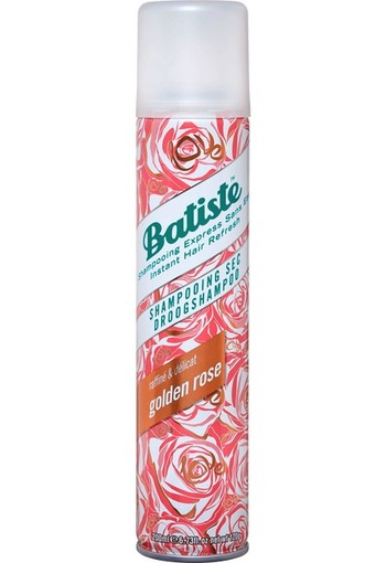 Batiste Droogshampoo Rose Gold 200 ml
