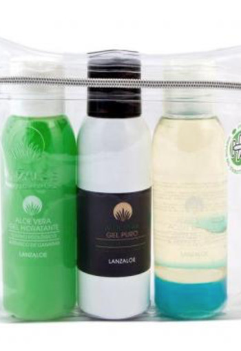 Lanzaloe Travelset bio 3 x 100 ml (1 Set)