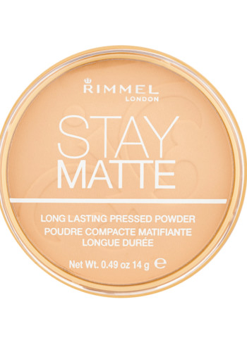 Rimmel London Stay Matte Pressed Powder- 06 Warm Beige