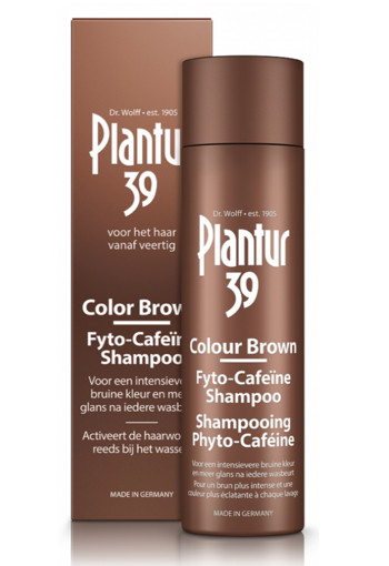 Plantur39 Shampoo color brown (250 ml)