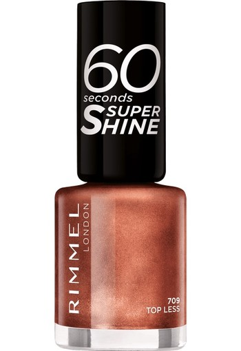 Rimmel London 60 Seconds Supershine Nailpolish - 709 Topless