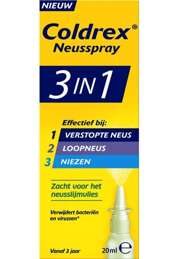 Coldrex 3-in-1 Neusspray 20 ml