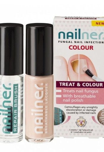 Nailner Colour 5 ml (2 stuks)