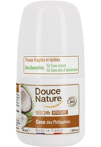 Douce Nature Deodorant roll on kokos 24h (50 ml)