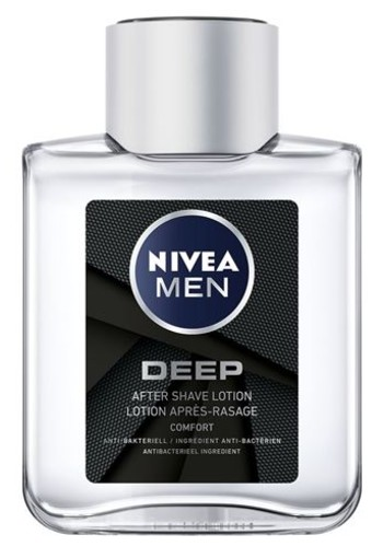 Nivea Men deep aftershave lotion (100 ml)