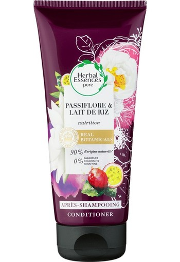 Herbal Essences Pure Passiebloem & Rijstmelk Voedend Conditioner 200 ml
