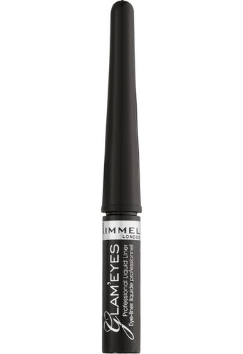 Rimmel London Glam'Eyes Professional Liquid Eyeliner 001 Black Glamour