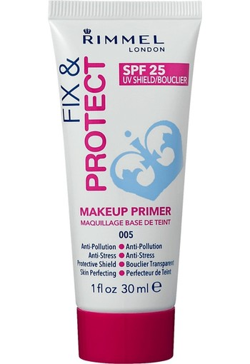 Rimmel London Fix & Protect Primer Poreless Primer 30 ML, creme