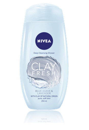 NIVEA SHOWER CLAY FRESH GINGER & BASIL
