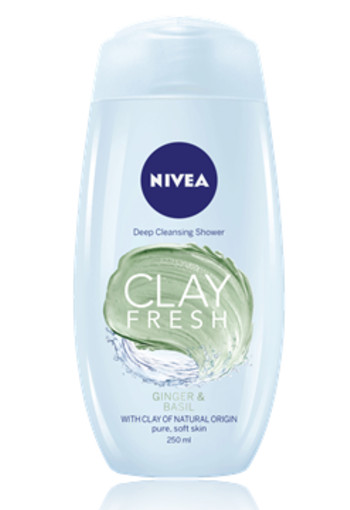 NIVEA SHOWER CLAY FRESH BLUE AGAVE & LAVENDER