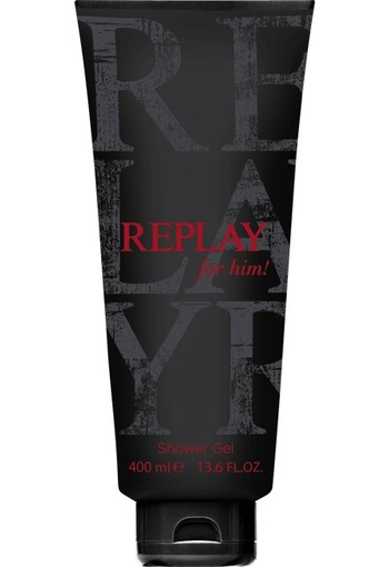 Replay For Him! Showergel 400 ml