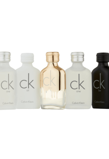 Calvin Klein Deluxe Travel Collection Set 50 ml