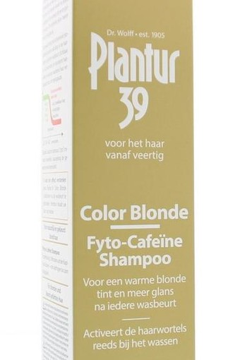 Plantur39 Shampoo color blond (250 ml)