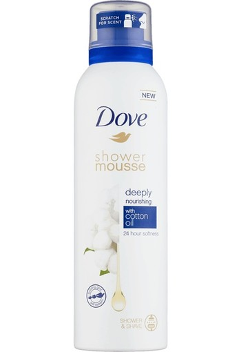Dove Shower foam cotton oil 200 ml