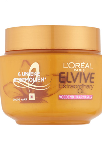 L'Oréal Paris Elvive Extraordinary Oil Voedend Haarmasker 300 ml