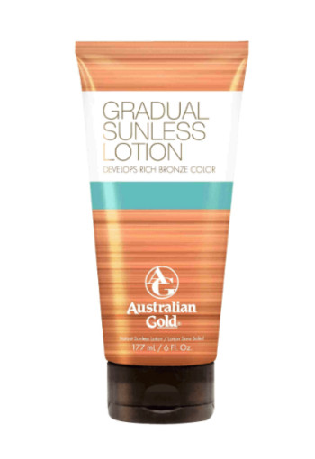 Australian Gold Gradual sunless tanning lotion (177 ml)