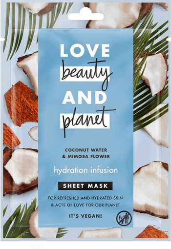 Love Beauty And Planet Hydration Infusion Gezichtsmasker 21 ml