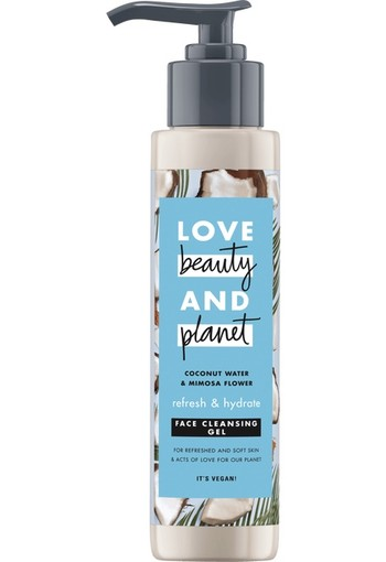 Love Beauty And Planet Refresh And Hydrate Face Cleansing Gel 125 ml