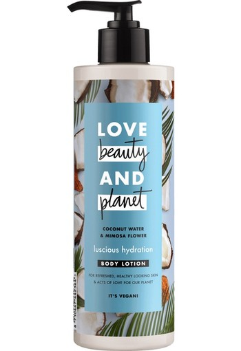 Love Beauty And Planet Muru Muru Butter & Rose Bodylotion 400 ml