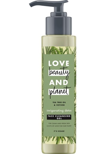 Love Beauty And Planet Tea Tree & Vetiver Face Cleansing Gel 125 ml