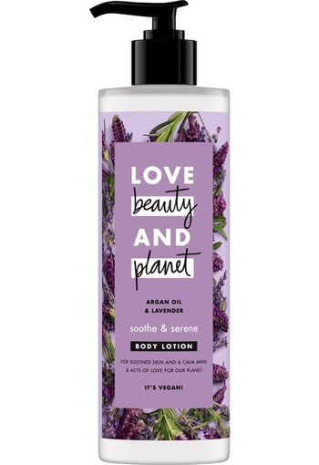 Love Beauty And Planet Argan Oil & Lavender Body Lotion 125 ml