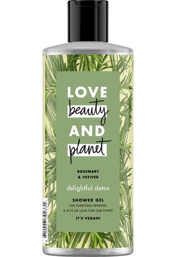 Love Beauty And Planet Rosemary & Vetiver Delightful Detox Showergel 500 ml