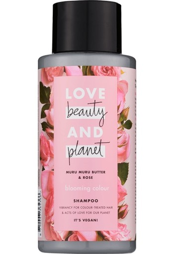 Love Beauty And Planet Blooming Color Muru Muru Butter & Rose Shampoo 400ml