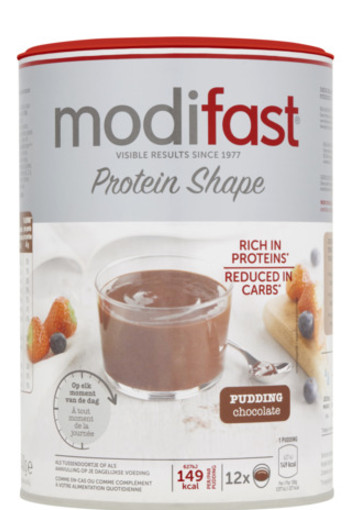 Modifast Protein Shape Pudding Chocolade 540g