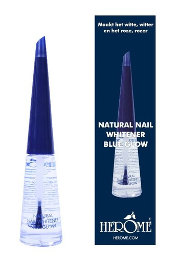 Herome Natural nail whitener blue glow (10 ml)