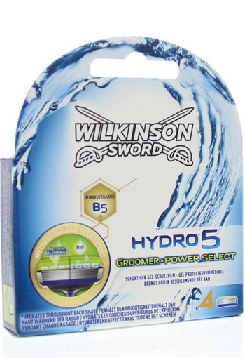 Wilkinson Hydro 5 groomer power select mesjes (4 stuks)