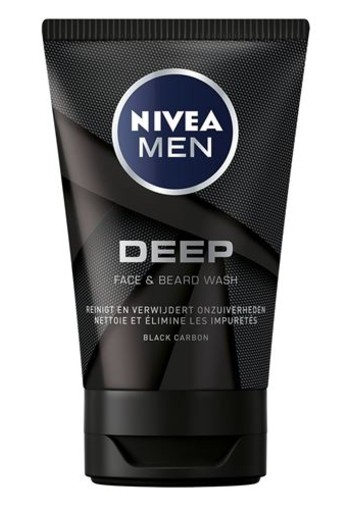 Nivea Men deep black face wash (100 ml)