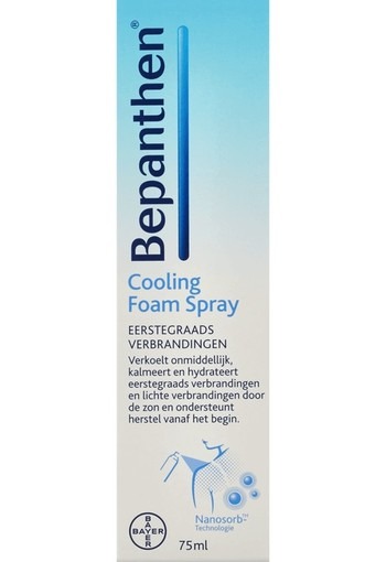 Bepanthen Cooling Foam Spray 75 ml