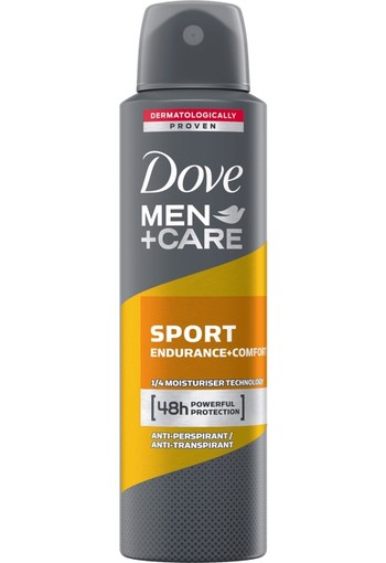 Dove Men+Care Sport Endurance + Comfort Deodorant Spray 150 ML