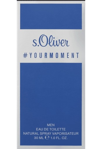 S. Oliver Moment Man Eau De Toilette 30 ml