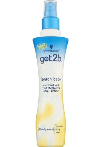 Got2b Beach Babe Mermaid Look Texturizing Salt Spray 200 ml