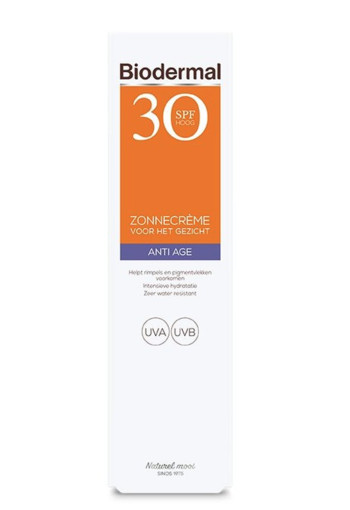 Biodermal Anti age creme gezicht SPF30 (40 ml)